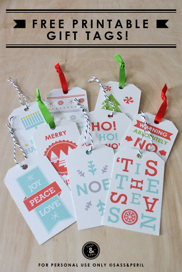23 Unique Christmas Gift Tags and