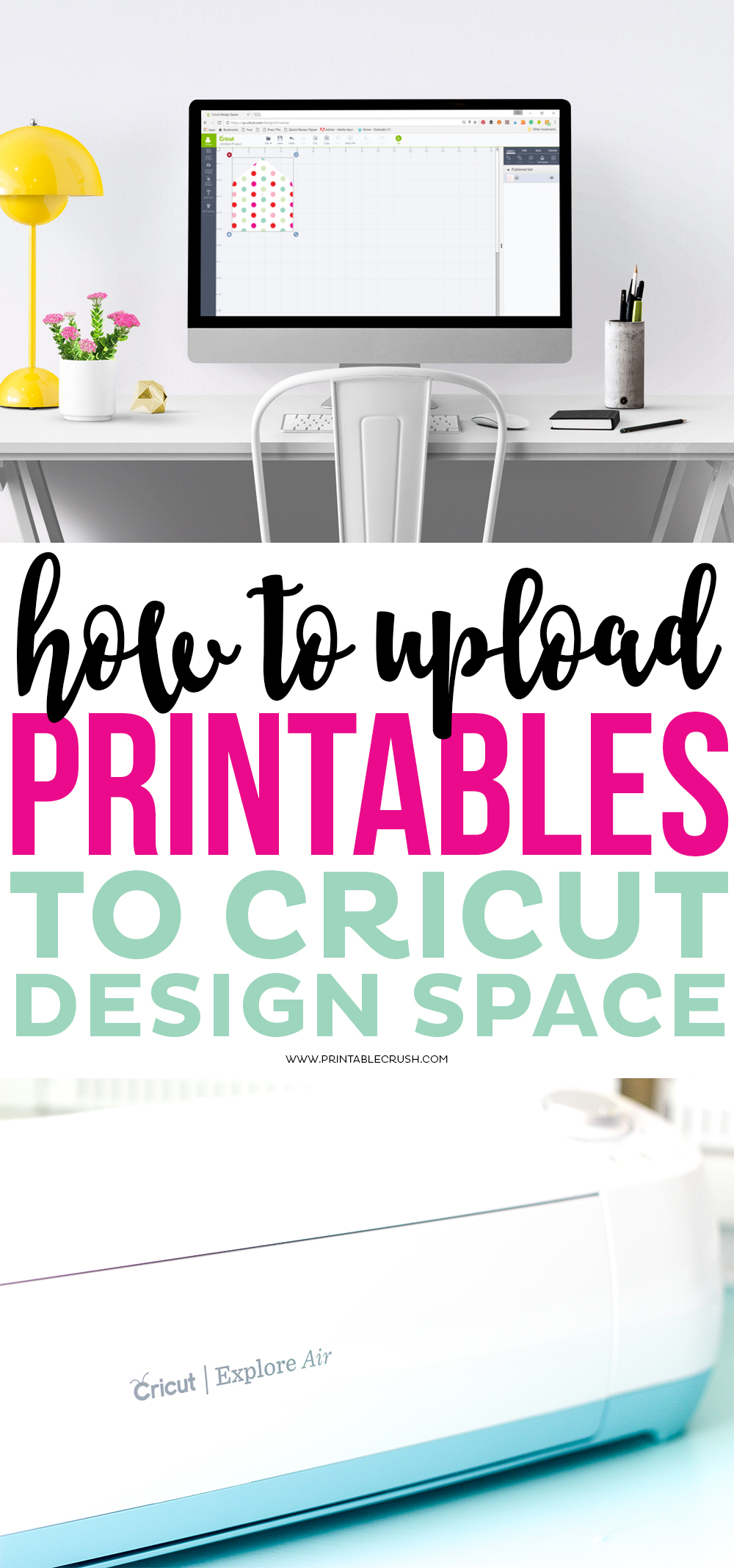 How to upload printables to cricut design space for Design a space online