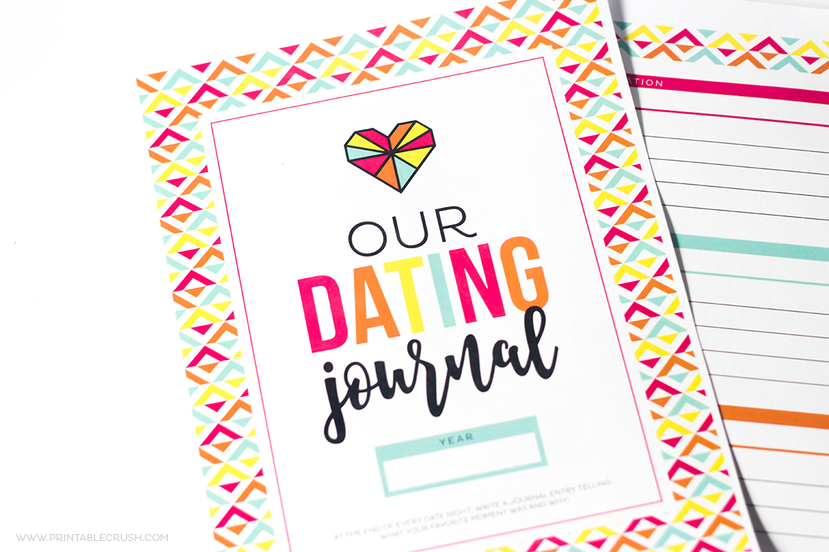 Fun and FREE Printable Dating Journal