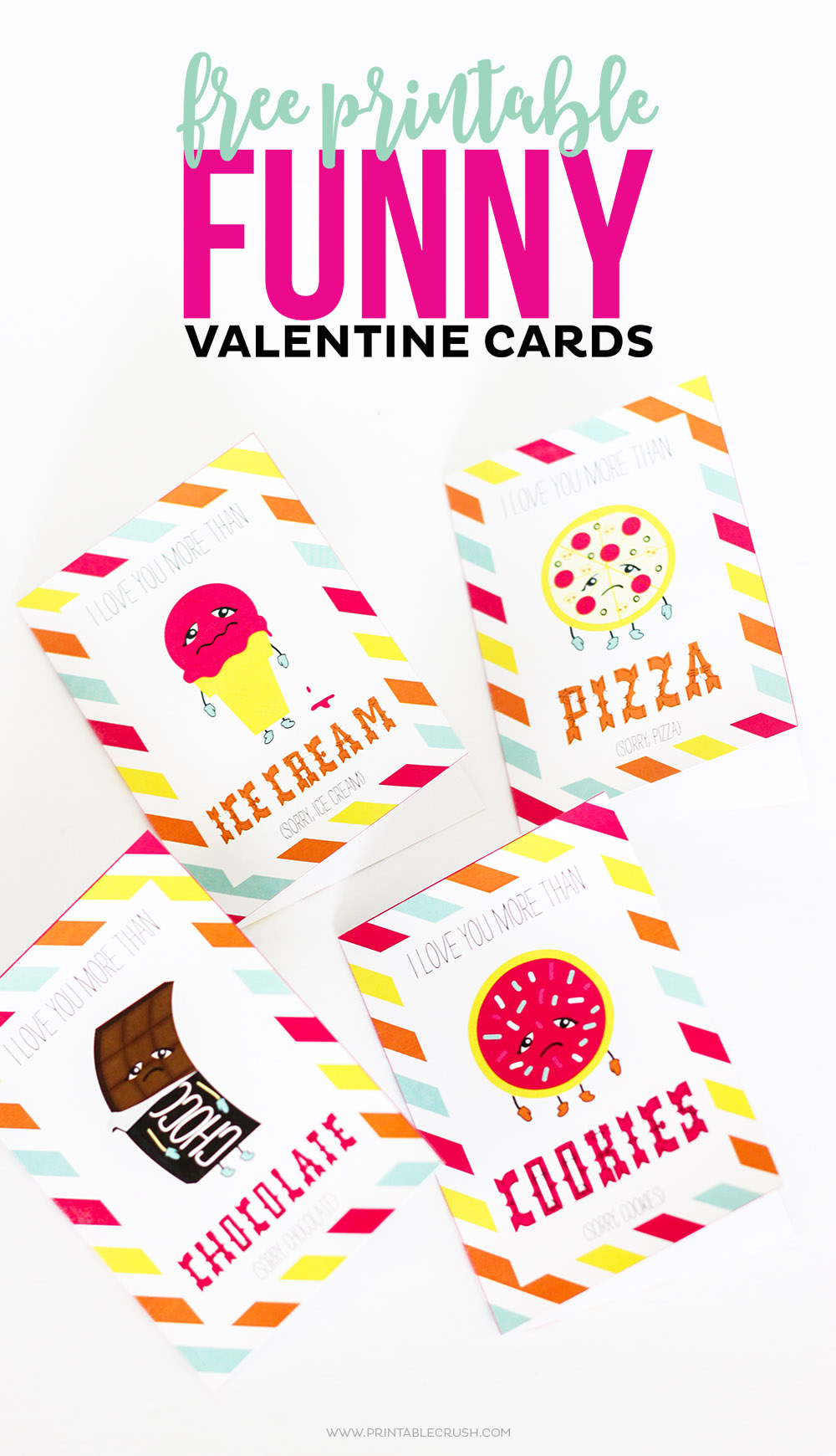 FREE Printable Funny Valentine Cards Printable Crush – Print Valentine Cards Free