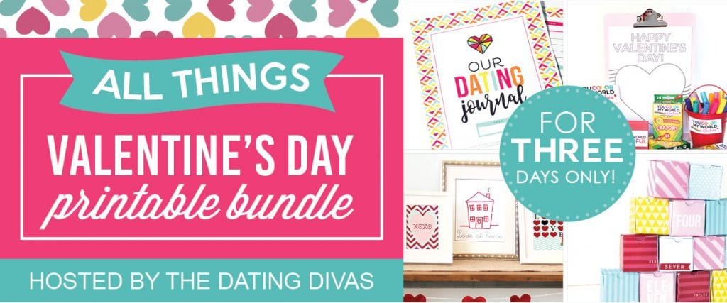 ALL THINGS VALENTINE'S Day Blogger Printable Bundle {3 Days Only!!!}