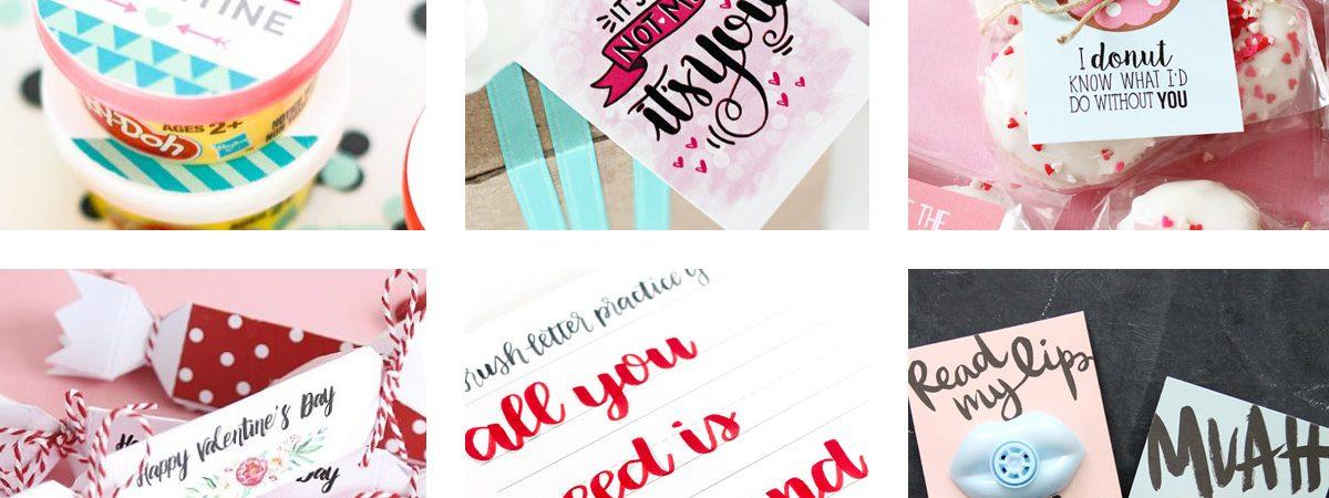 27 Fun and FREE Valentine Printables