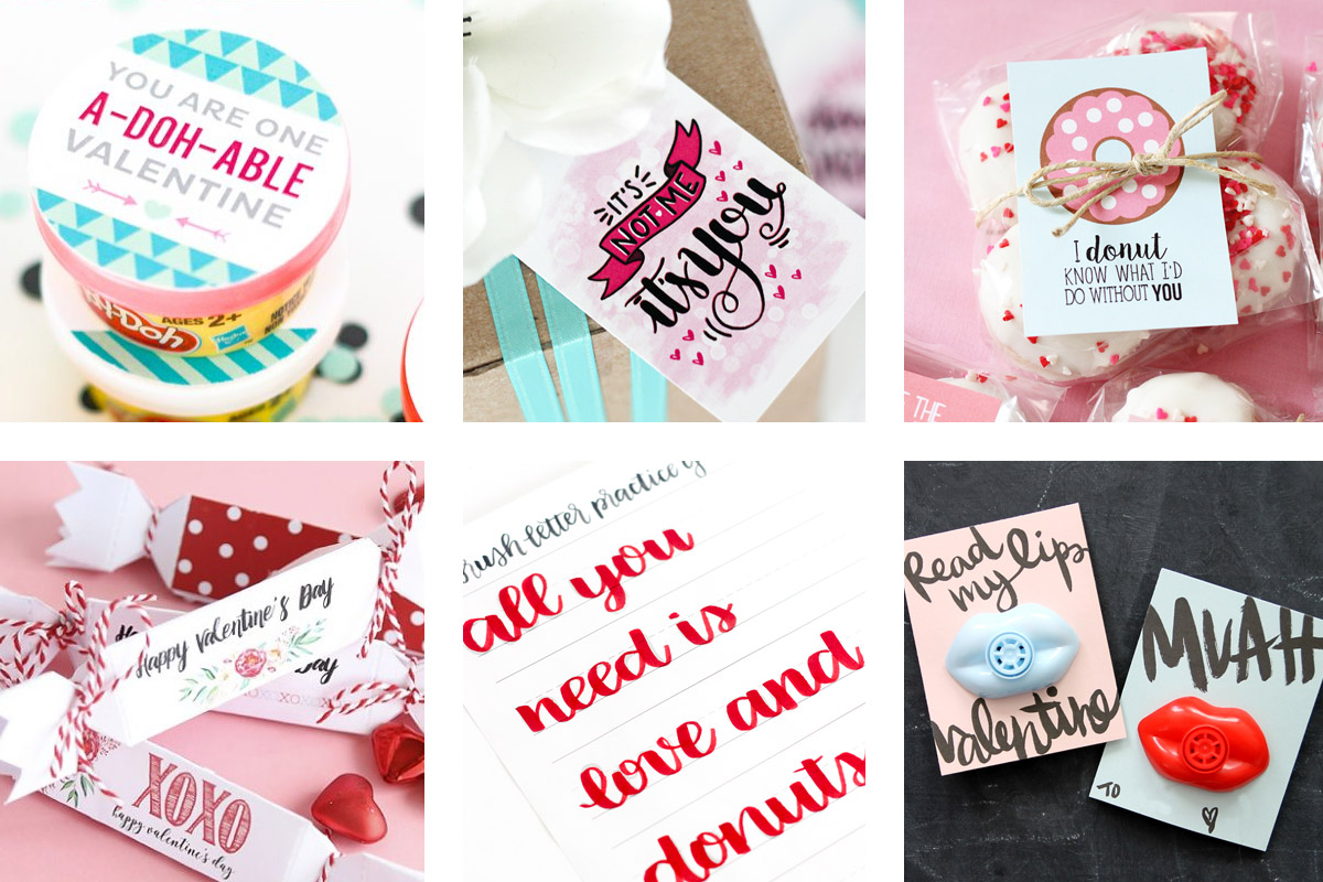 27 Fun and FREE Valentine Printables