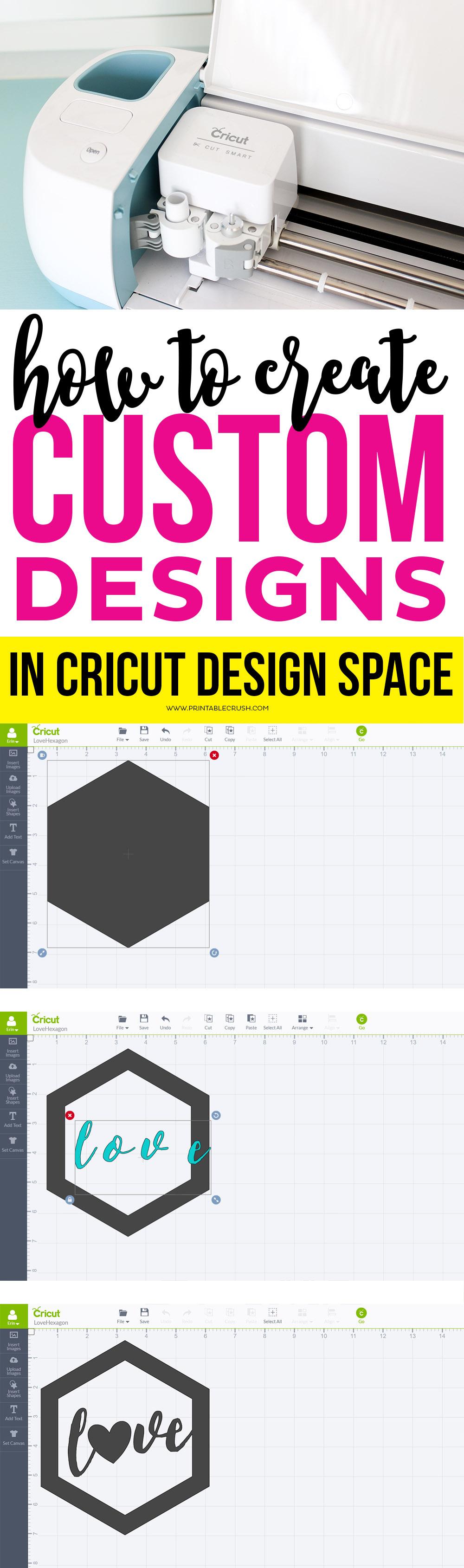 How To Create Custom Designs In Cricut Design Space