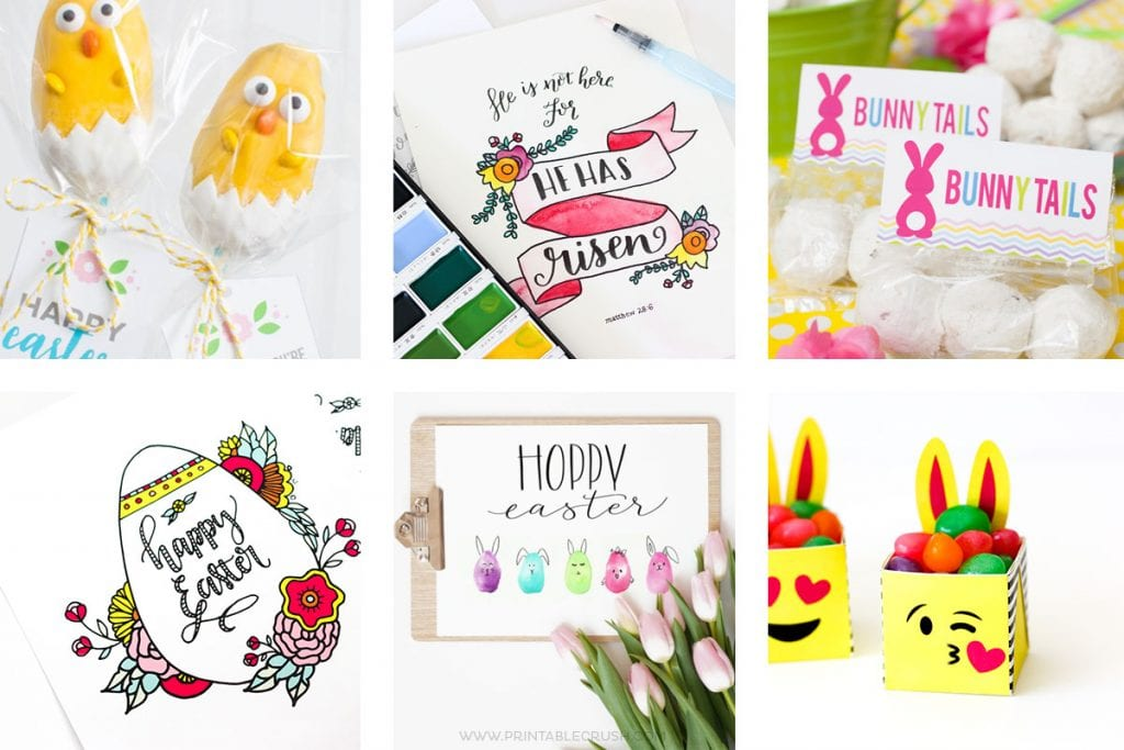27 of the BEST Easter Printables and Tutorials