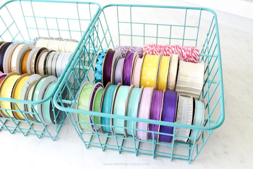 Easy DIY Ribbon Holder for Mess-Free Ribbon Storage