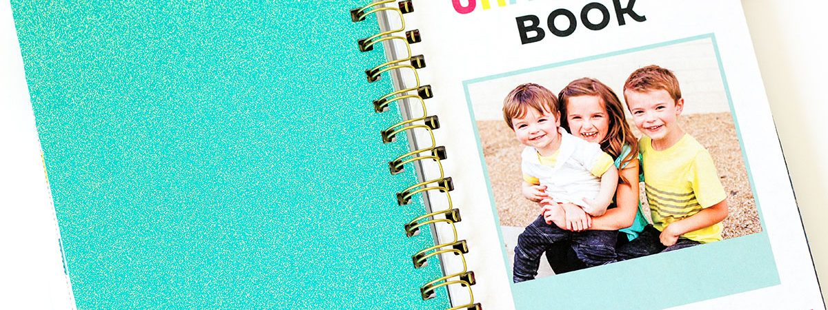 DIY Spiral Bound Book for Grandma
