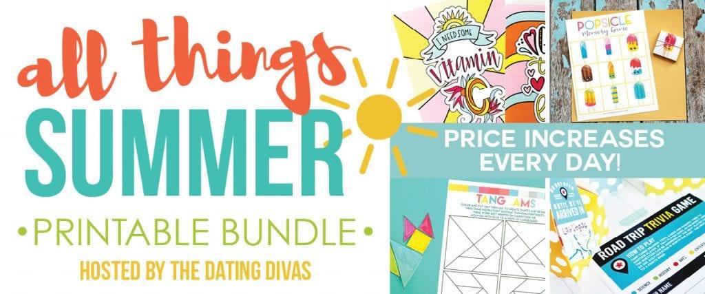 All Things Summer Printable Bundle