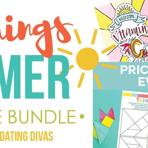 Get everything you need for an awesome summer break with this All Things Summer Printable Bundle! Over a dozen summer printables from some of the most creative bloggers!
