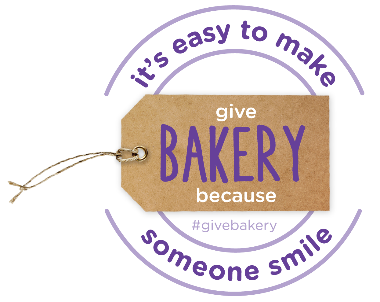 Give Bakery Because to show someone you care!