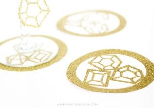 Create some cute coasters and other amazing crafts when you learn to use the Merge Tool in Cricut Design Space! So many possibilities!