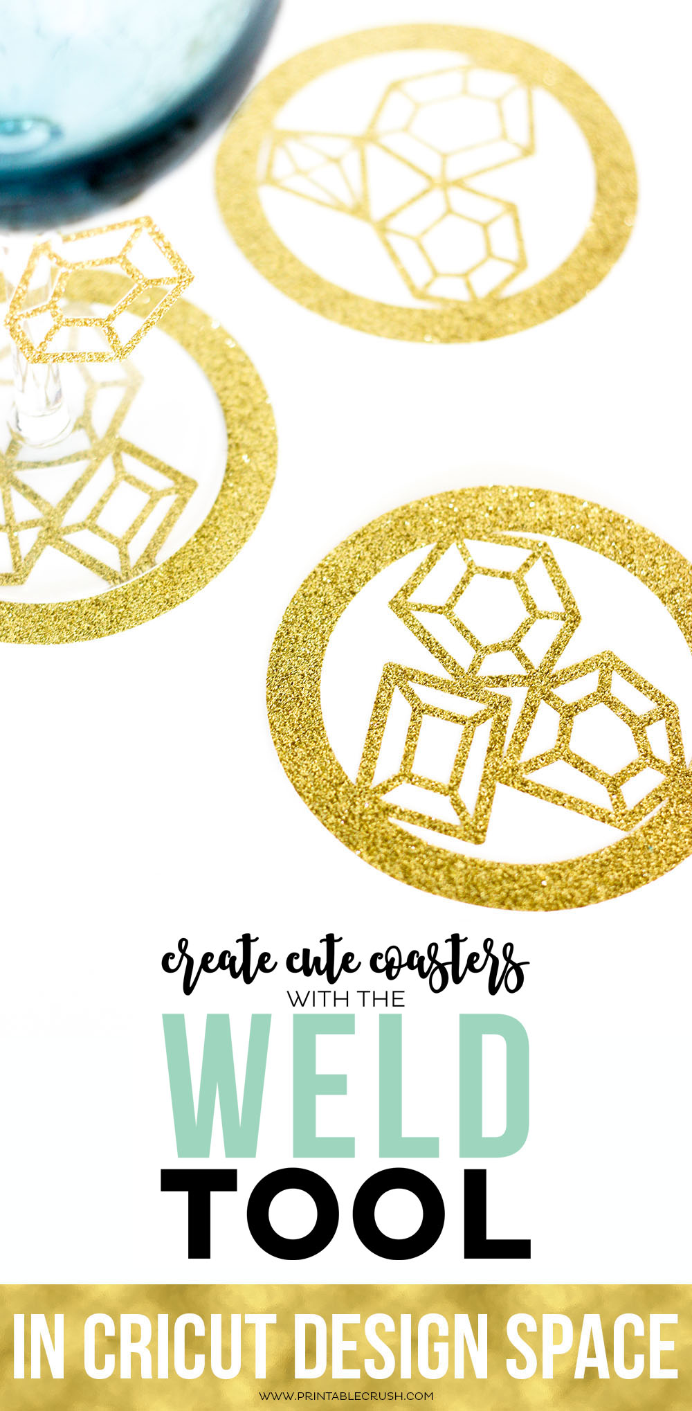 How to use the weld tool in cricut design space printable crush learn to use the weld tool in cricut design space and you can make some cute buycottarizona Images