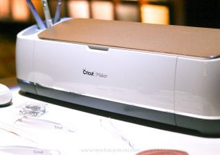 The brand new Cricut Maker can do pretty much any craft you can think of. Read this Cricut Maker Review to get all the details on this fabulous cutting machine!