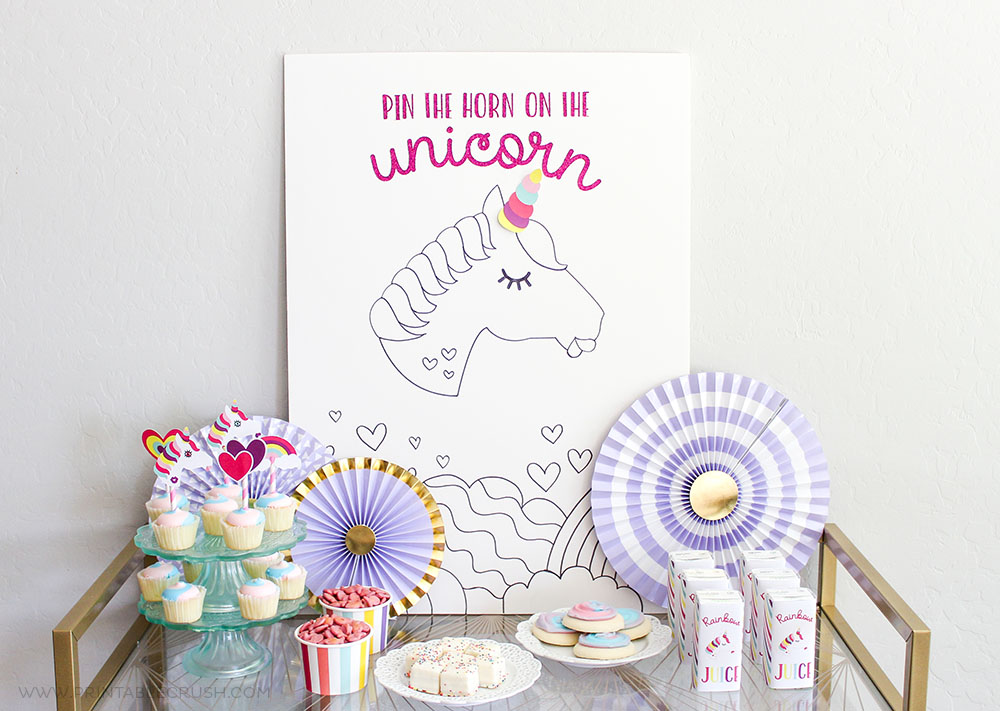 How to Throw a Budget Friendly Unicorn Party in One Day!