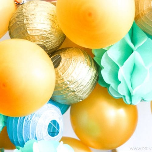 How to Make a DIY Balloon Garland
