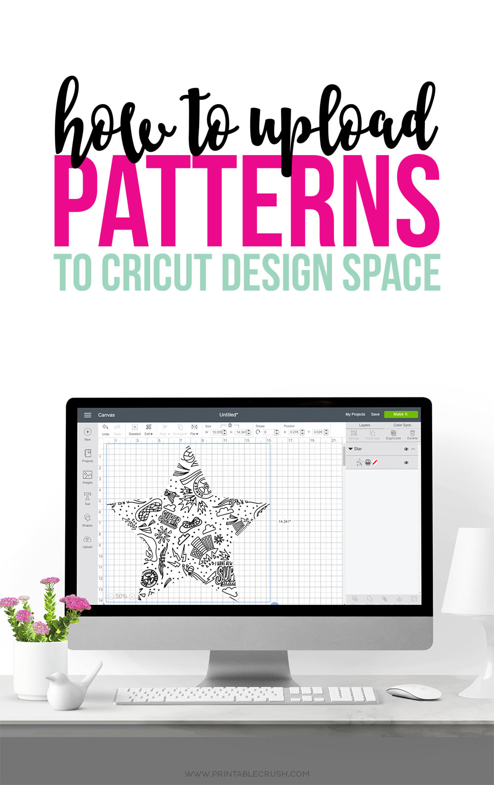 How To Upload Patterns To Cricut Design Space Printable