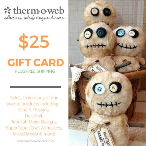 Thermoweb Halloween Gift Card $25