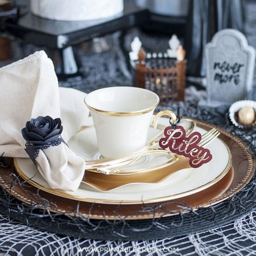 Haunted Mansion Halloween Tea Party Ideas