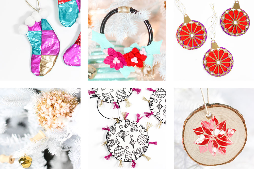Pretty Handmade Christmas Ornaments