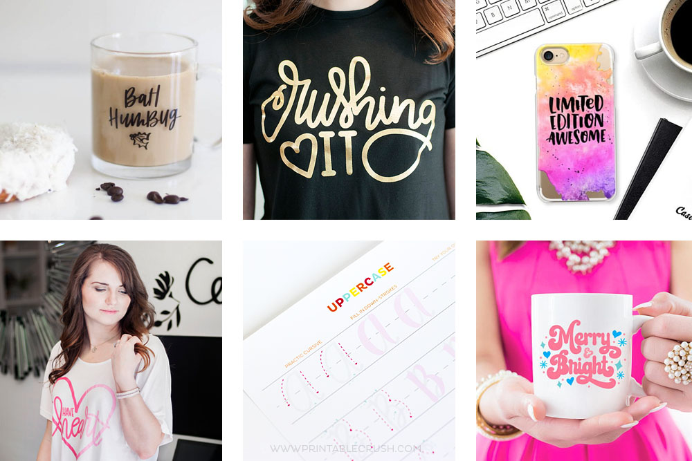 The BEST Hand Lettered Gift Guide