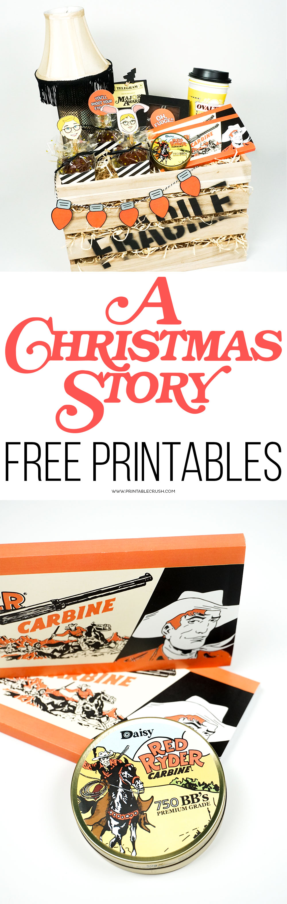Challenger image in free printable christmas story