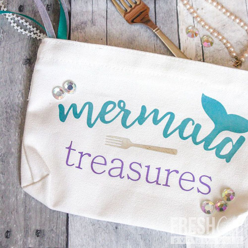 Mermaid Treasures Makeup Bag