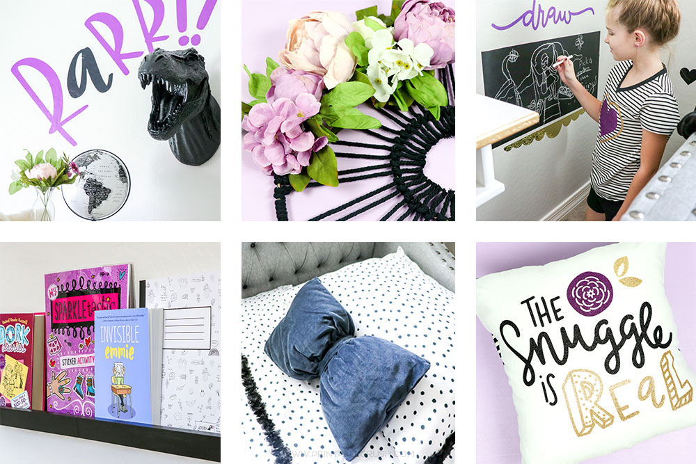 Fun and modern tween bedroom ideas printable crush - Cute bedroom ideas for tweens ...